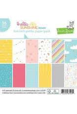Lawn Fawn Hello Sunshine Remix - 6x6 Paper Pad