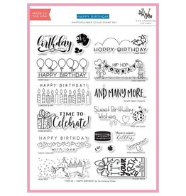 The Stamping Village Happy Birthday (The Stamping Village) - Clear Stamps