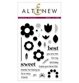Altenew Folksy Florals - Clear Stamp Set