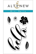 Altenew Mini Hello - Clear Stamp Set