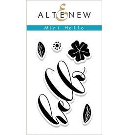 Altenew Mini Hello - Clear Stamp Set
