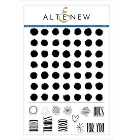 Altenew Watercolor Dots - Clear Stamp Set