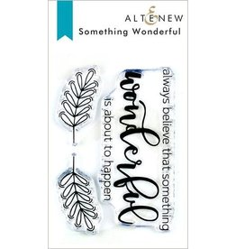 Altenew Something Wonderful - Clear Stamp Set