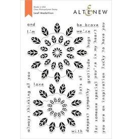 Altenew Leaf Medallion - Clear Stamp Set