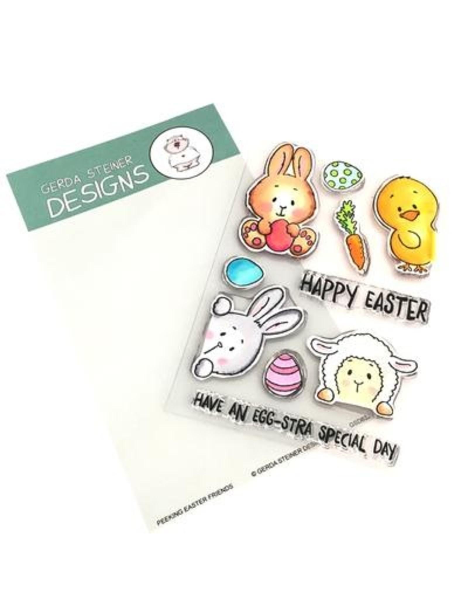 Gerda Steiner Designs Peeking Easter Friends - Die Set