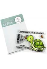 Gerda Steiner Designs Hello Friend Tortoise - Clear Stamp Set