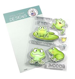 Gerda Steiner Designs Frogs - Clear Stamp Set
