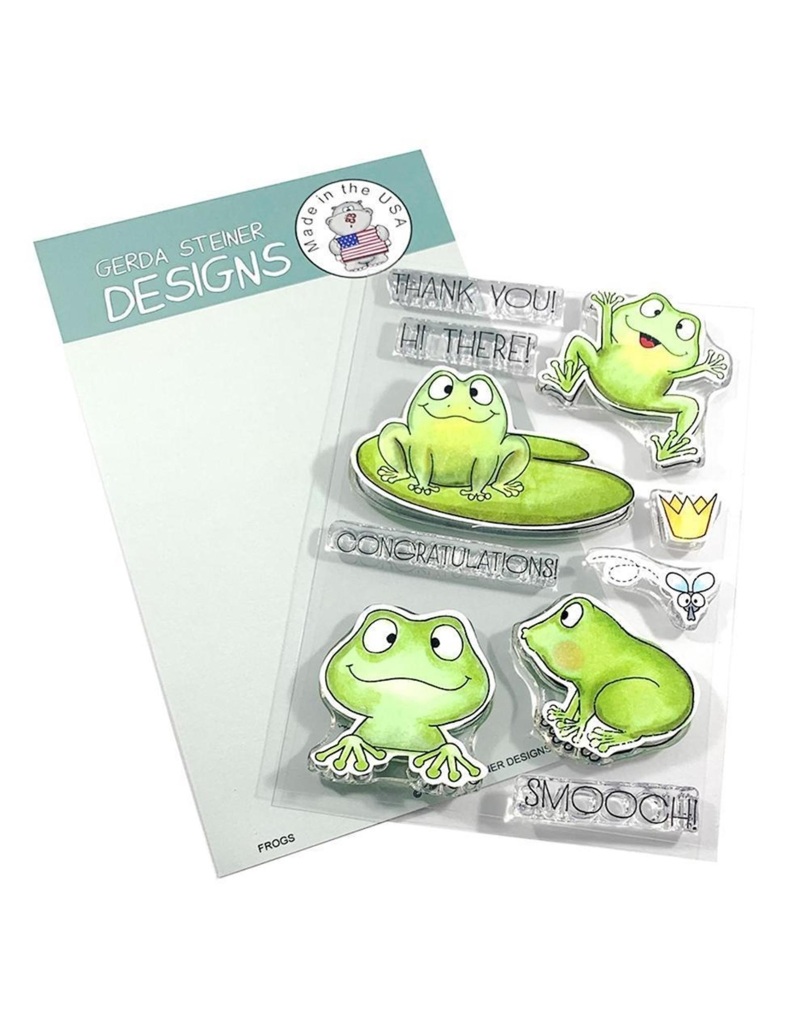 Gerda Steiner Designs Frogs - Die Set
