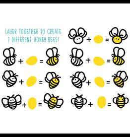 Honey Bee Stamps Honey Bees (Paper Piecing) - Dies
