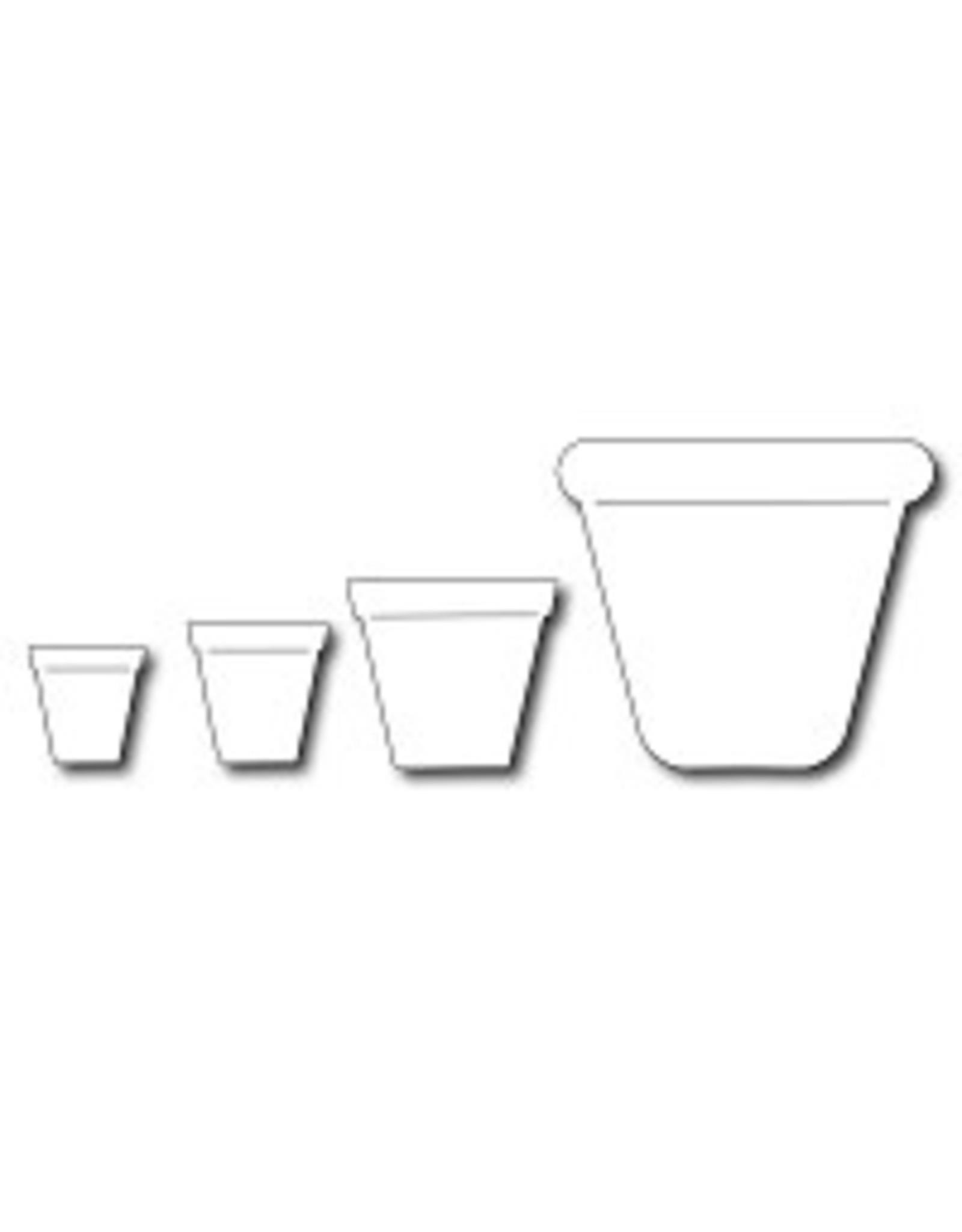 Frantic Stamper Inc Gardening Pots (set of 4) - Dies