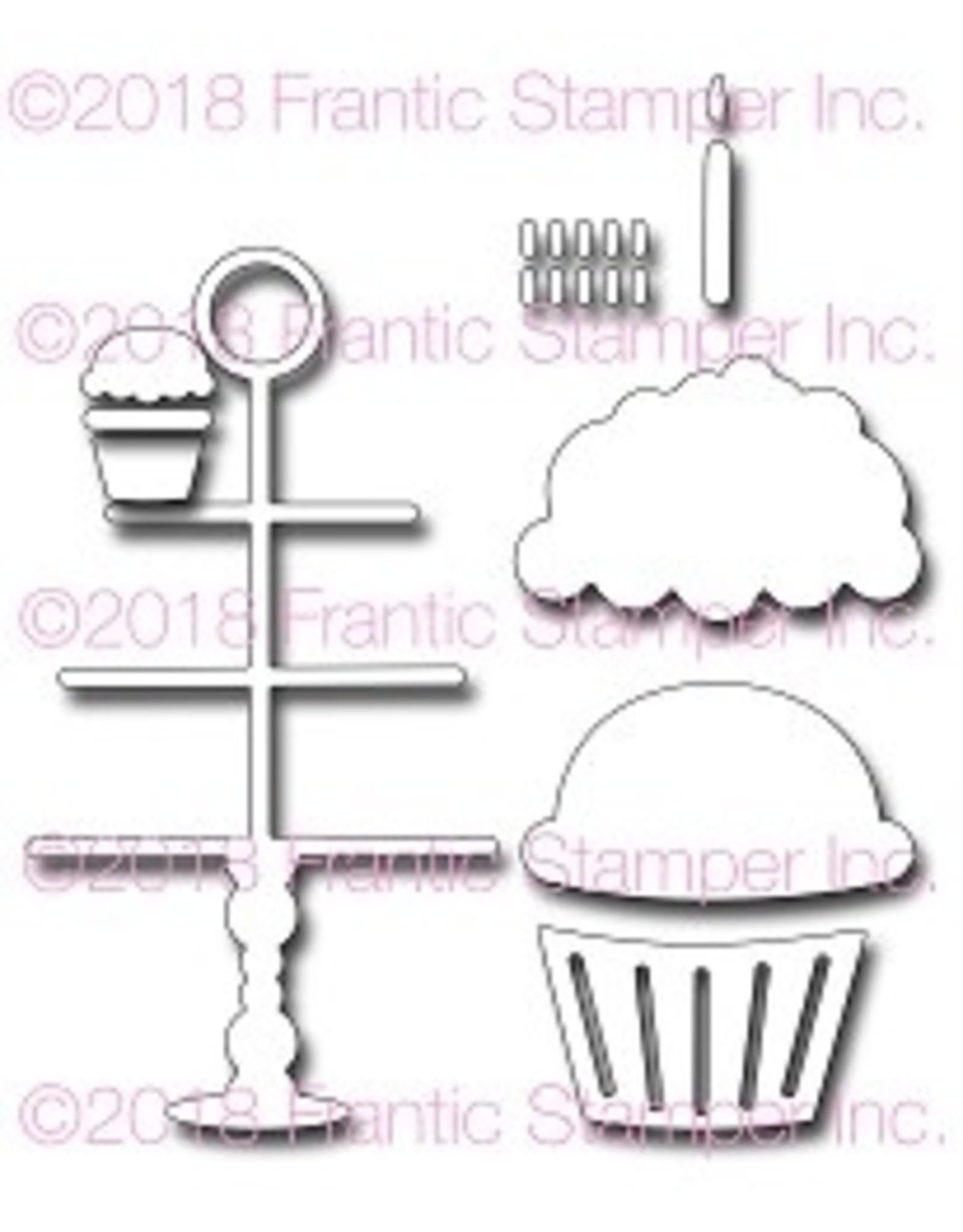 Frantic Stamper Inc Cupcakes - Dies