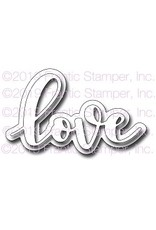 Frantic Stamper Inc Giant Layered Love - Die