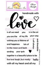 Frantic Stamper Inc Giant Love - Clear Stamps