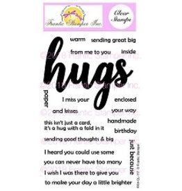Frantic Stamper Inc Giant Hugs - Clear Stamps