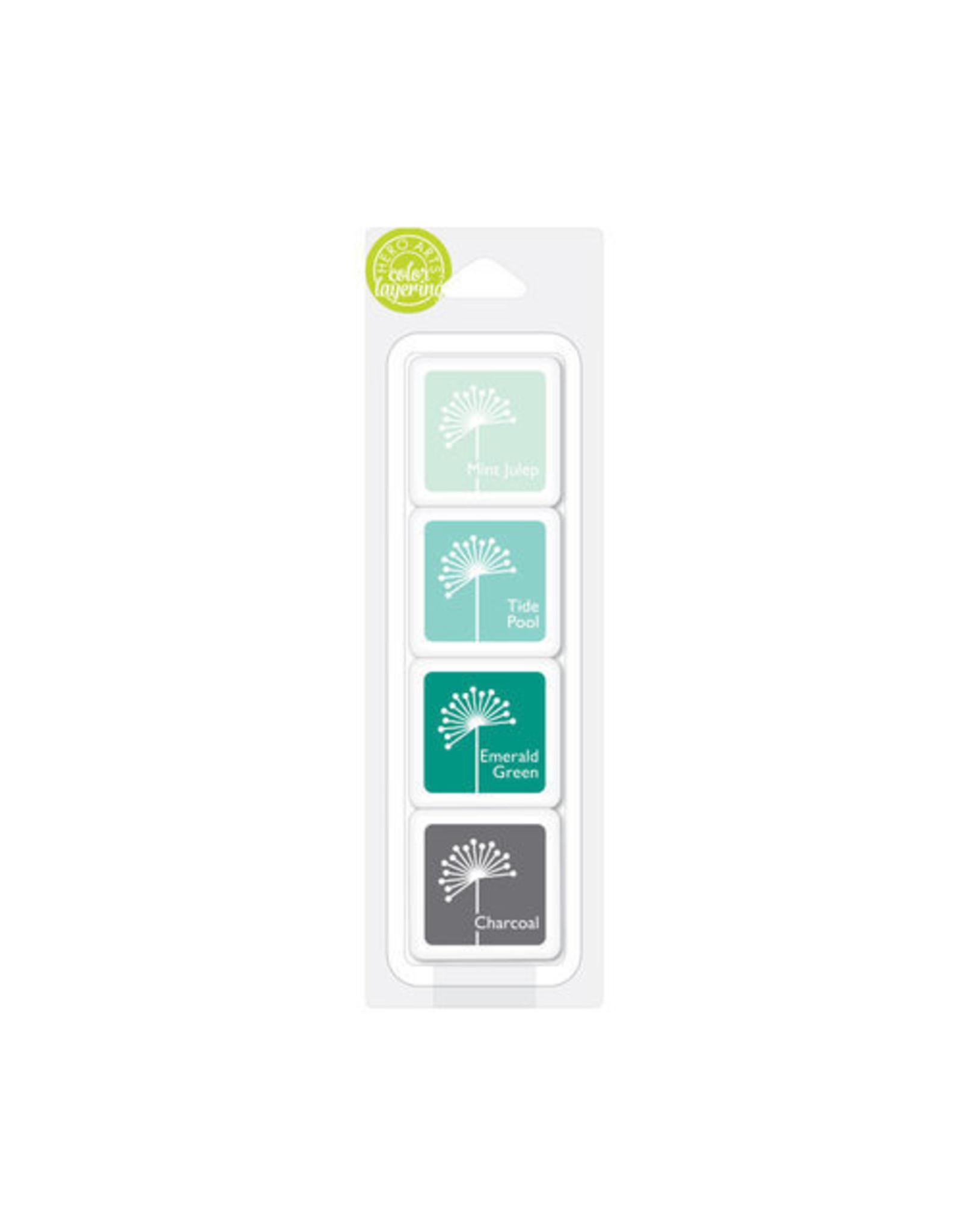 Hero Arts Hero Arts Color Layer Cubes - May's Shades of Teal