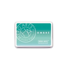 Hero Arts Ombre Ink Pad - Mint to Green (30%)