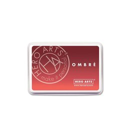 Hero Arts Ombre Ink Pad - Light Ruby to Royal Red (30%)
