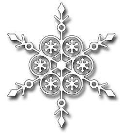 Frantic Stamper Inc Alpine Snowflake - Die
