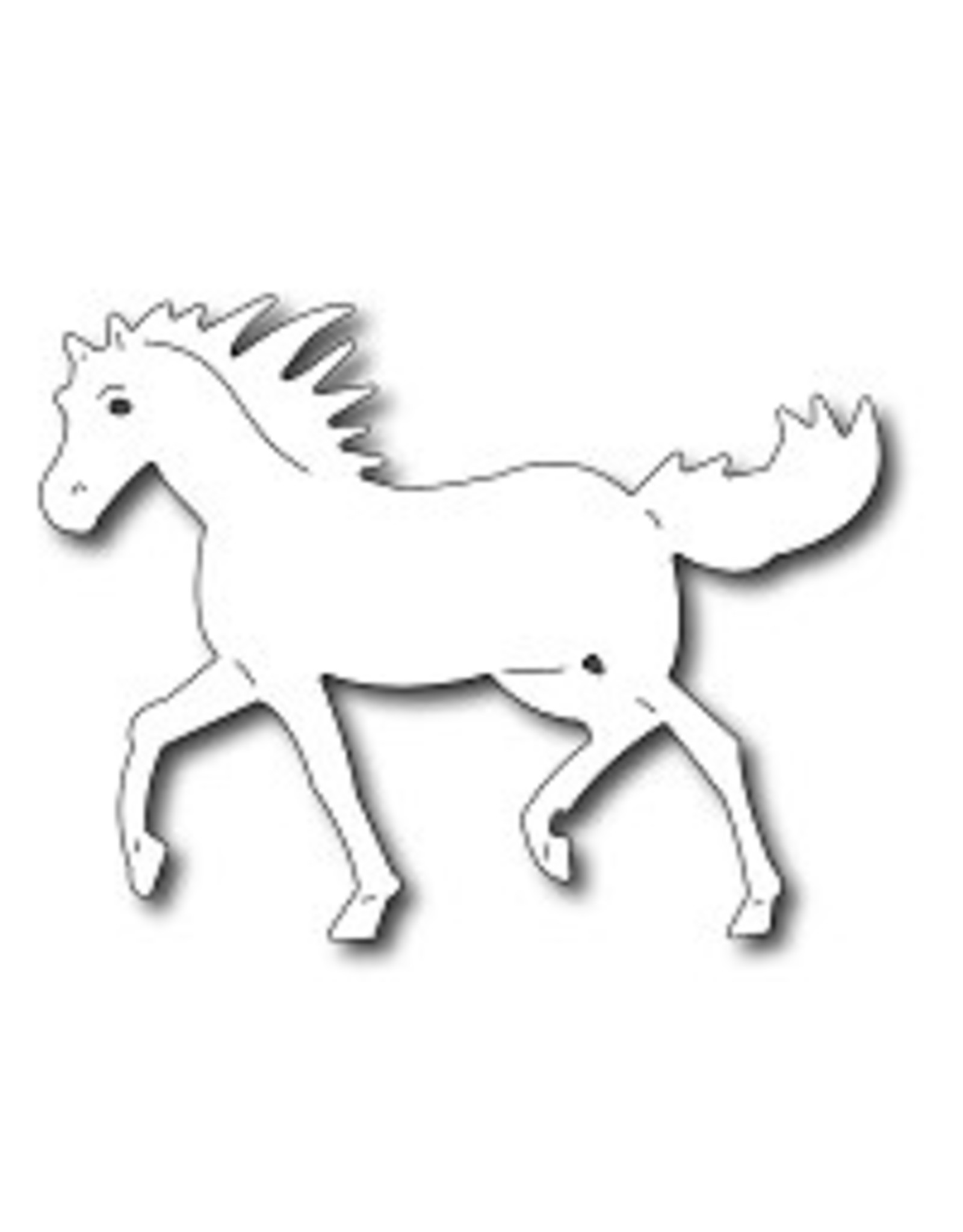 Frantic Stamper Inc Wild Mustang - Die