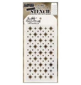 Stampers Anonymous Starry - Layering Stencil