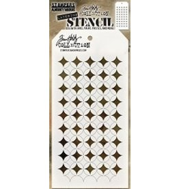 Stampers Anonymous Shifter Burst - Layering Stencil