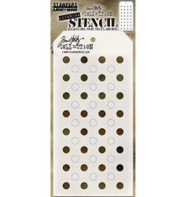 Stampers Anonymous Shifter Dots - Layering Stencil