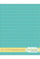 Cable Knit - Embossing Folder