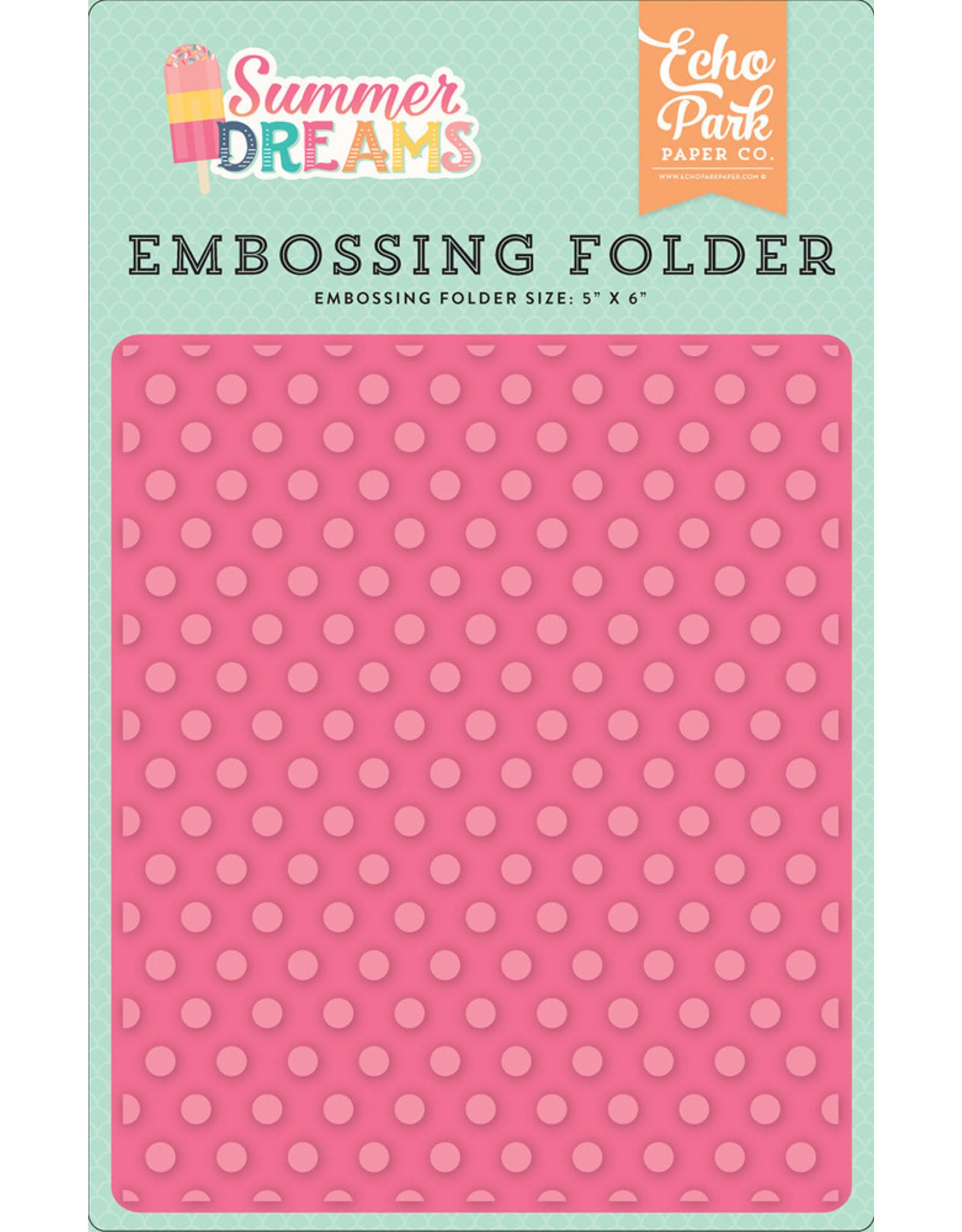 Echo Park Sunny Dot - Embossing Folder