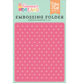 Echo Park Sunny Dot - Embossing Folder