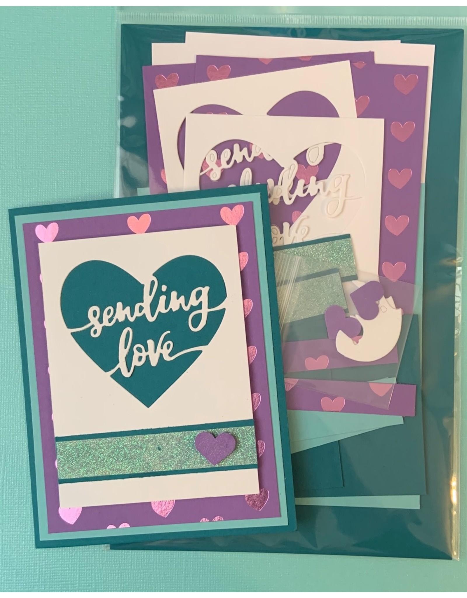 Sending Love Card Kit