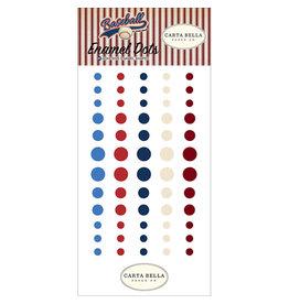 Carta Bella Paper Company, LLC Baseball - Enamel Dots