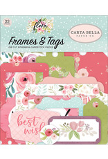 Carta Bella Paper Company, LLC Flora No. 3 - Frames & Tags