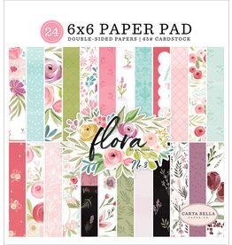 Carta Bella Paper Company, LLC Flora No. 3 - 6x6 Paper Pad