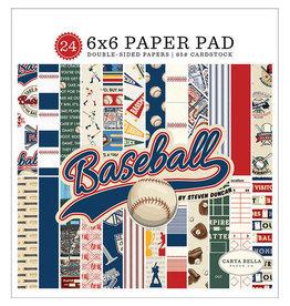 Carta Bella Paper Company, LLC Baseball - 6x6 Paper Pad