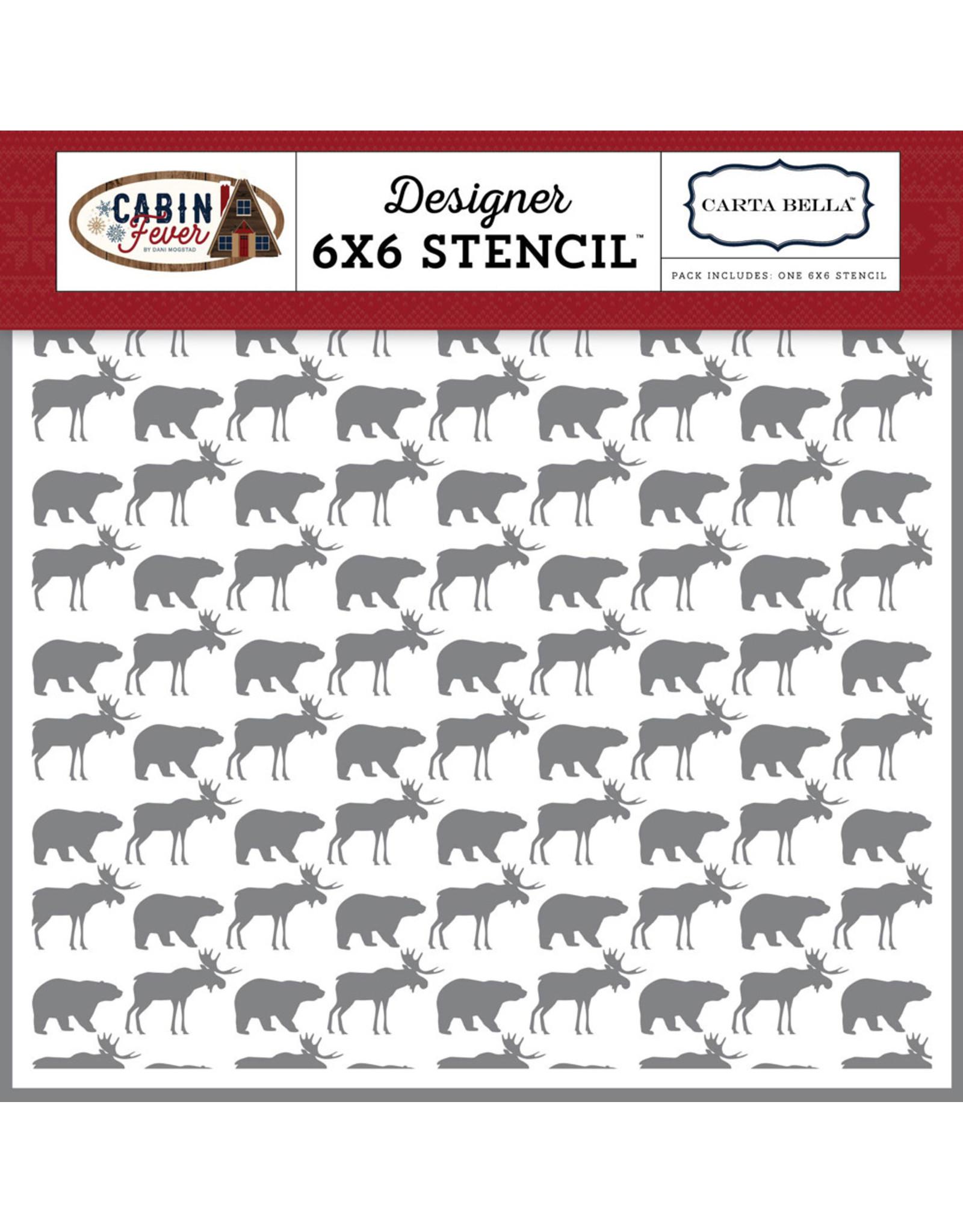 Echo Park Moose & Bear - Stencil