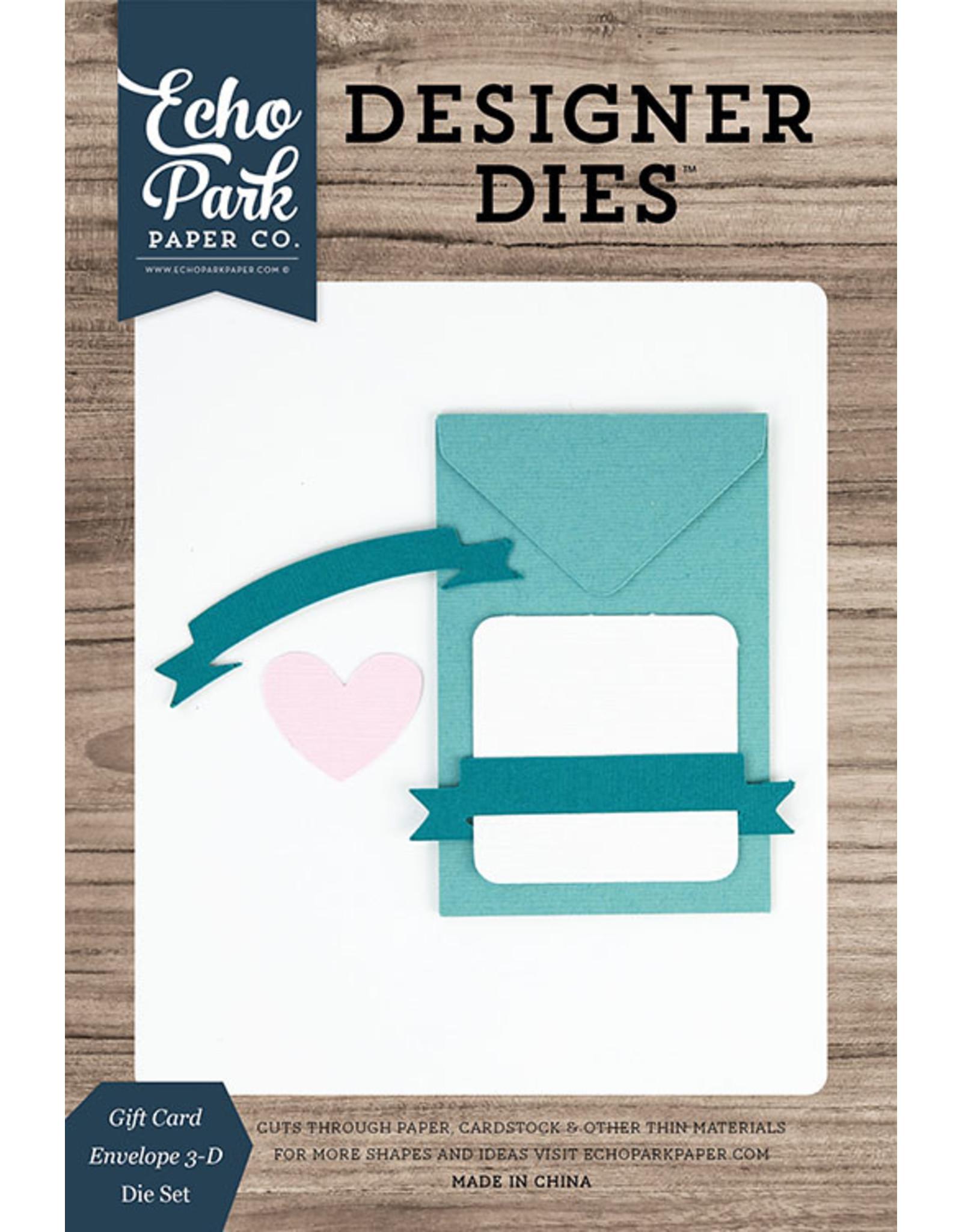 Echo Park Gift Card Envelope - 3D Die Set