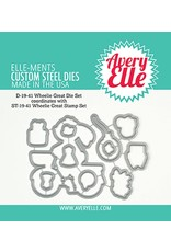 Avery Elle Wheelie Great - Clear Stamp Set