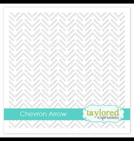 Taylored Expressions Chevron Arrow - Stencil