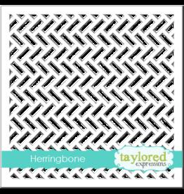 Taylored Expressions Herringbone - Stencil