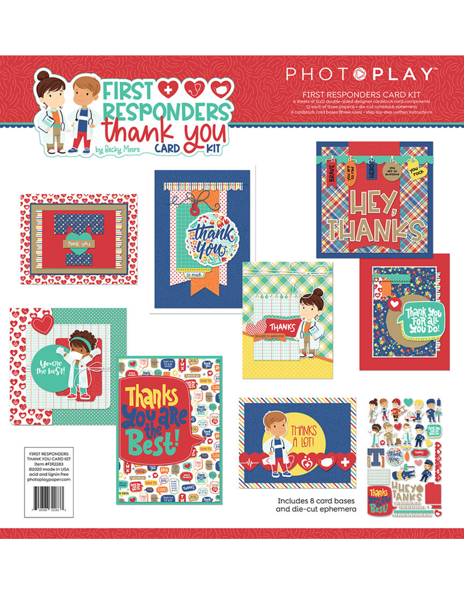 Photo Play First Responders Card Kit