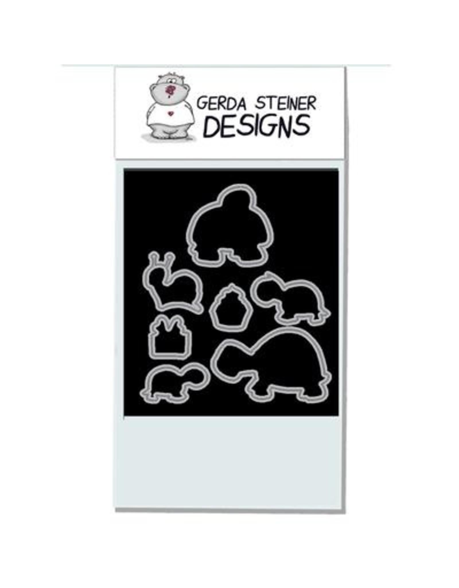 Gerda Steiner Designs Turtley Great! - Clear Stamp Set