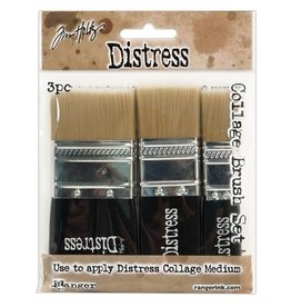 Ranger Collage Brush 3 pc. Set - Assorted Sizes