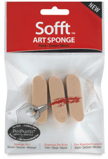 Colorfin LLC Sofft Tools - Round Sponge Bars (3 qty.)
