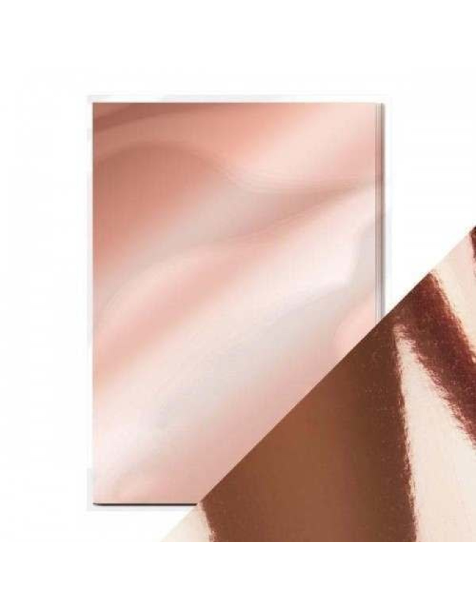 Tonic Studio Rose Platinum -  High Gloss Mirror Card