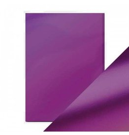Tonic Studio Purple Mist - A4 Mirror Card Satin Effect