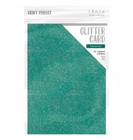 Tonic Studio Turquoise Lake - A4 Glitter Card