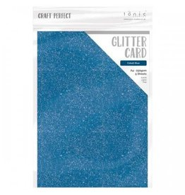 Tonic Studio Cobalt Blue -  A4 Glitter Card
