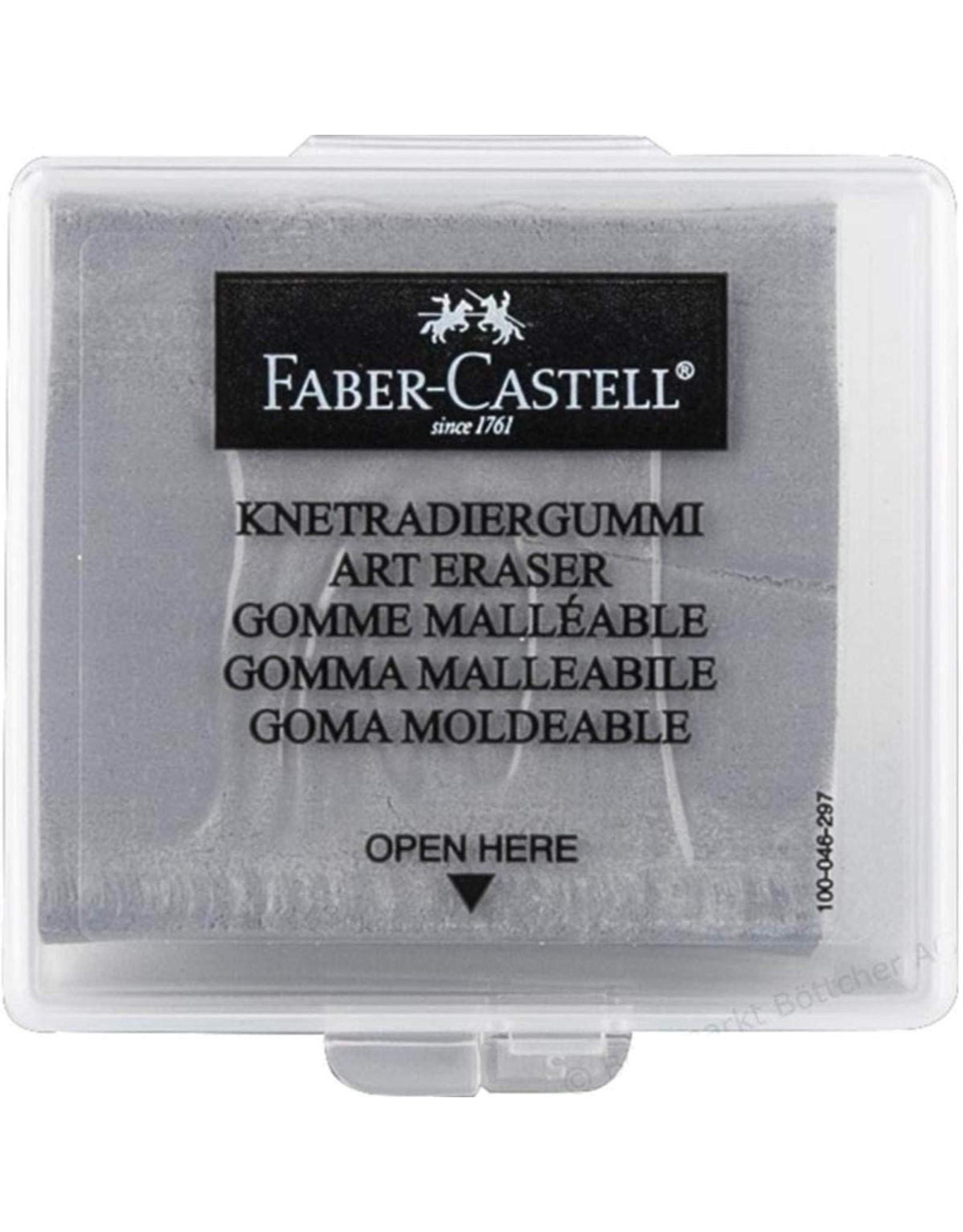 Faber-Castell Art Eraser - Grey Kneadable