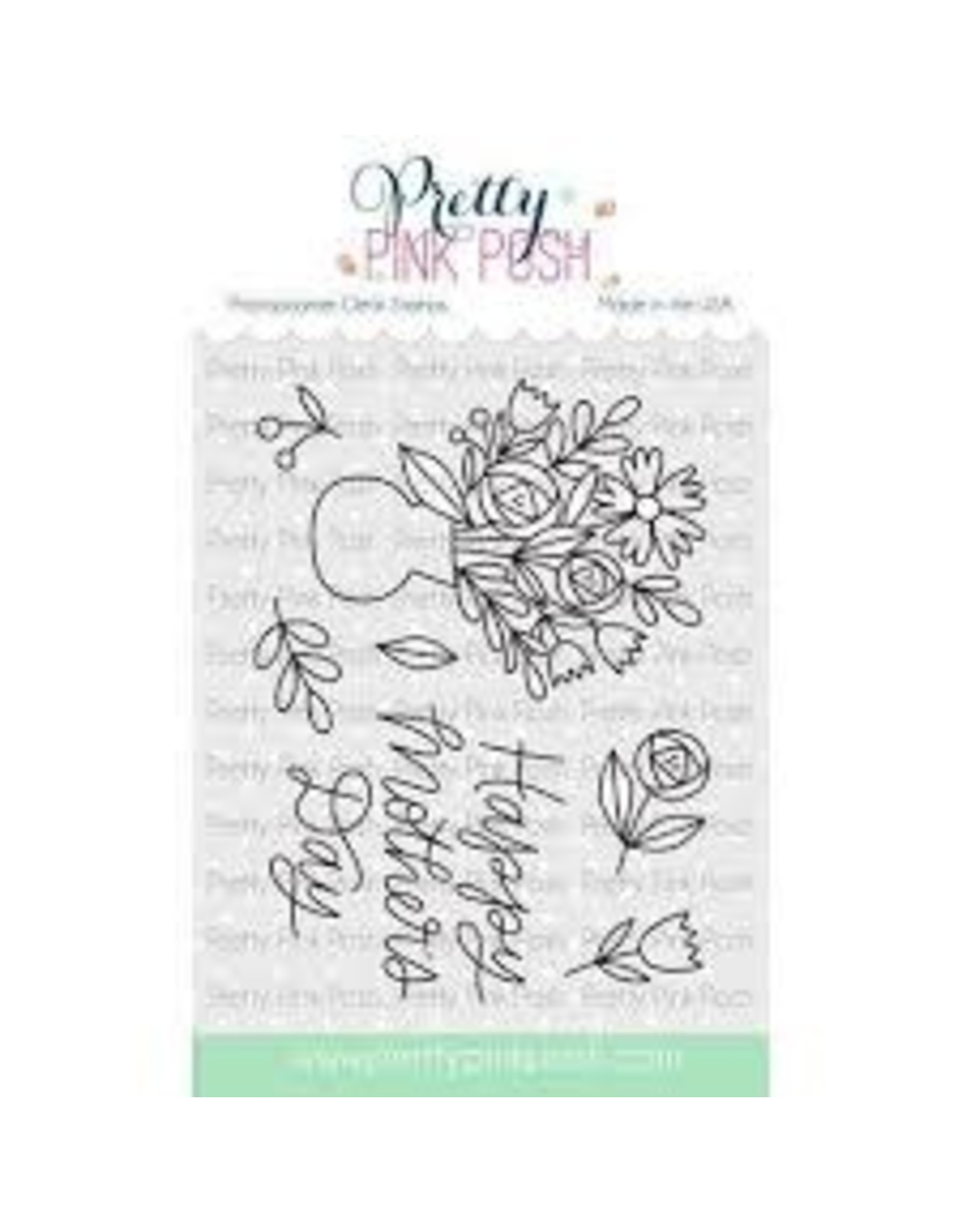 Pretty Pink Posh Mother's Day - Clear Stamp Set