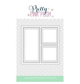Pretty Pink Posh Mini Storybook 1 - Die Set